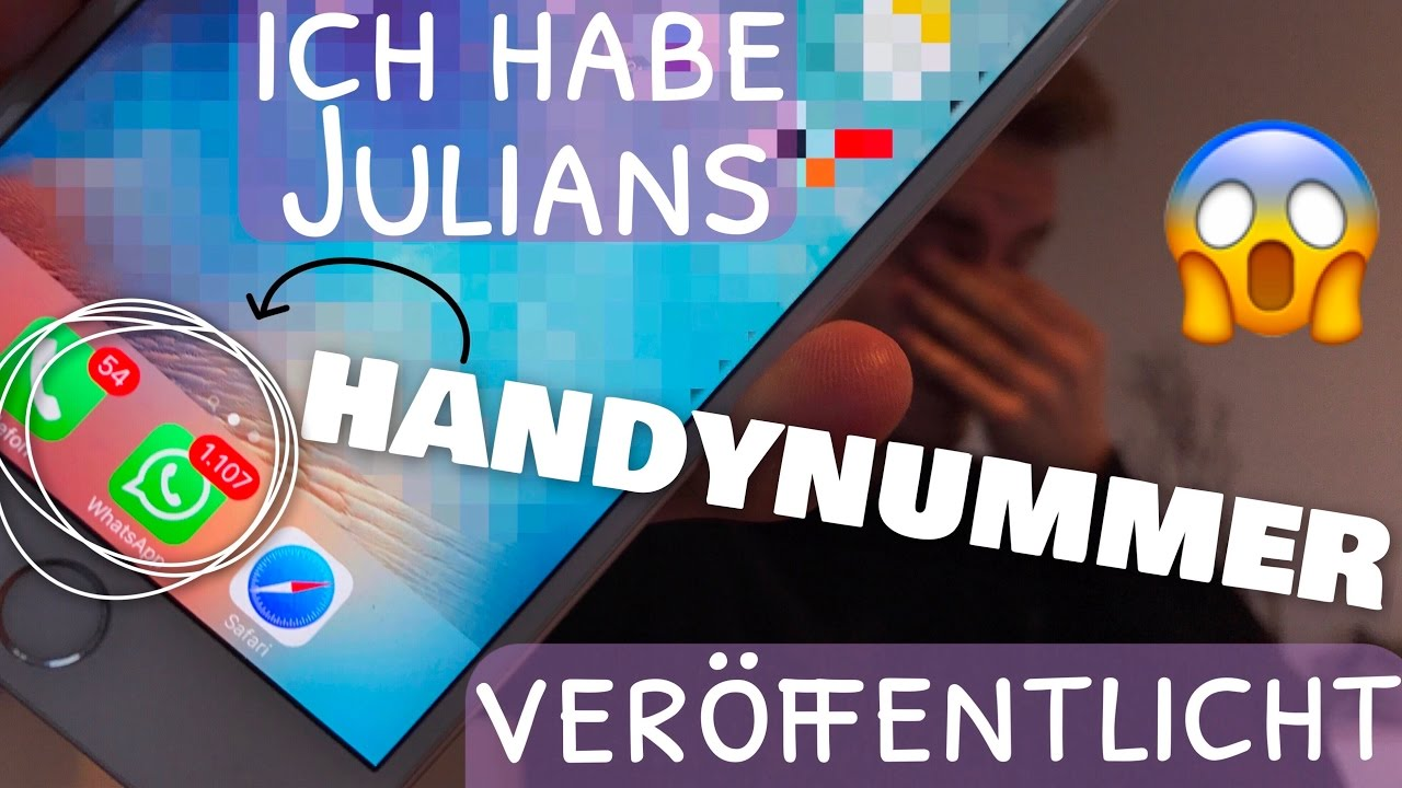 Julians Handynummer