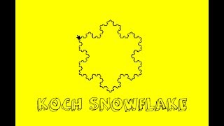 HowToMake - Koch Snowflake in Python [FRACTAL] by GALAHADTV