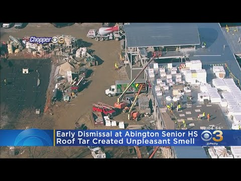 Unpleasant Smell Caused By Roof Tar Prompts Early Dismissal At Abington Senior High School