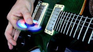 Fidget Spinner Guitar Pick (Warning: stupid)