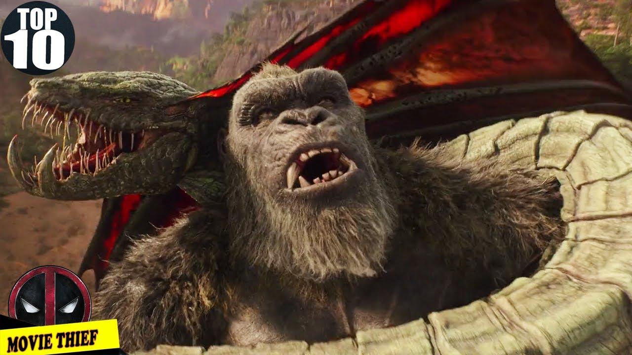 10 Cảnh Hightlight Trong Godzilla Đại Chiến Kong 2021| Godzilla vs Kong All Sighting