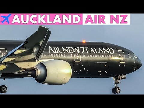 AIR NEW ZEALAND Fleet At Auckland Airport | 30mins