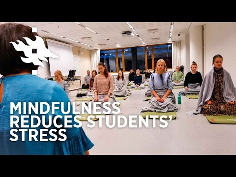 Take A Deep Breath - Mindfulness Reduces Students' Stress