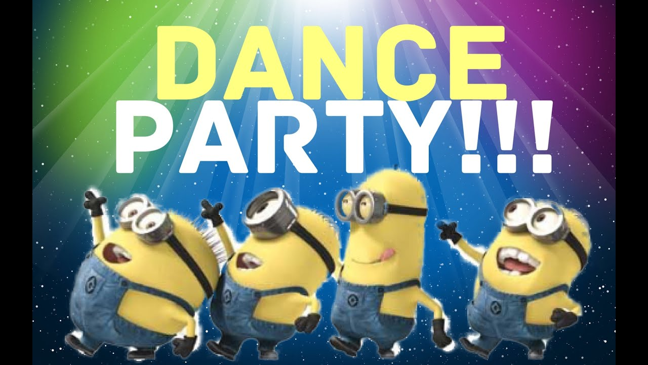 What is happening GIF - Find on GIFER |Moving Minions Party