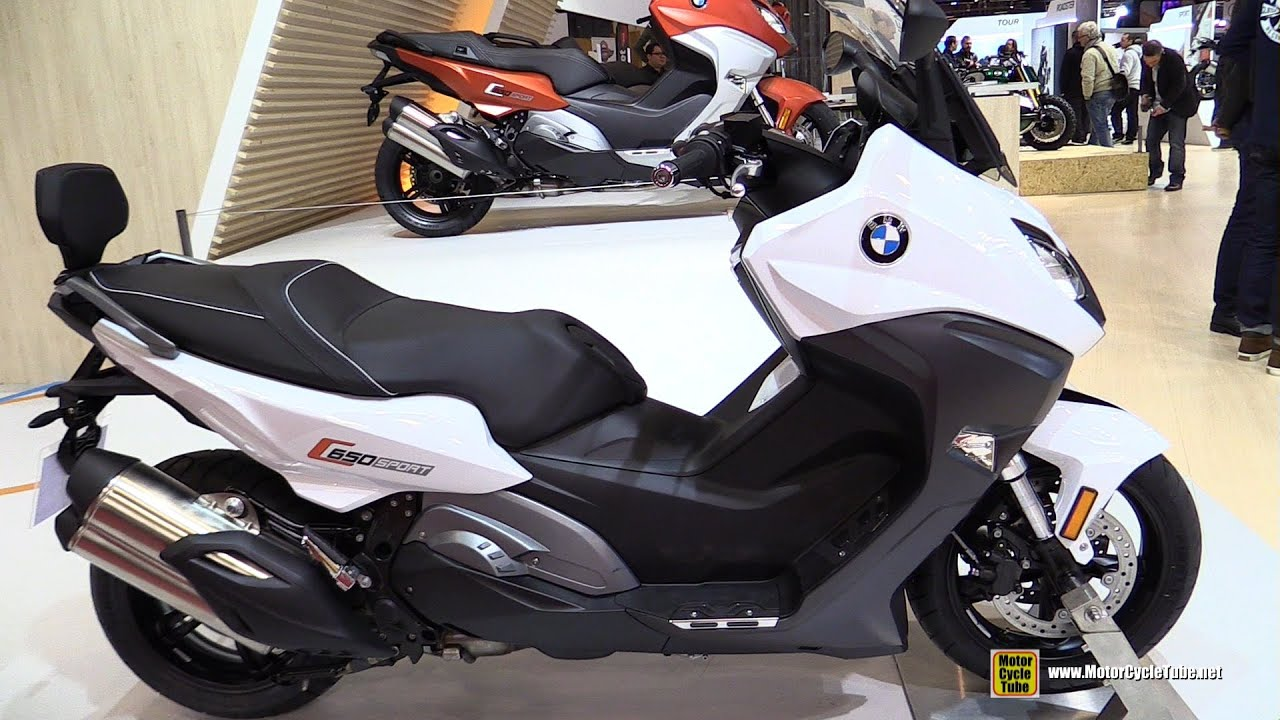 2016 Bmw C650 Sport Scooter Walkaround 2017 Salon De La Moto Paris