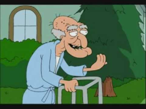 Family Guy Old Man Dog