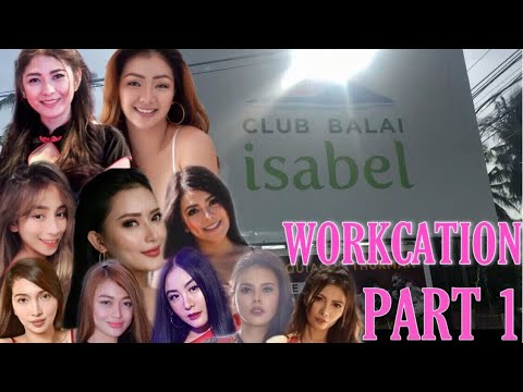 VLOG # 15 - WORKCATION WITH BEAUTIFUL MODELS , CLUB BALAI ISABEL PART 1