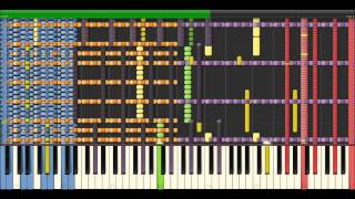 [Black Midi] Frozen - Let It Go (140KNotes by Z-Doc [Impossible])
