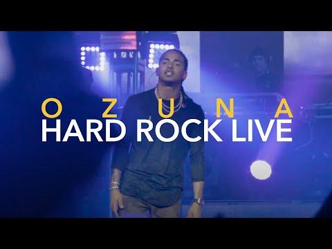OZUNA En La Intimidad (Trap Cartel) EN CONCIERTO HARD ROCK LIVE MIAMI