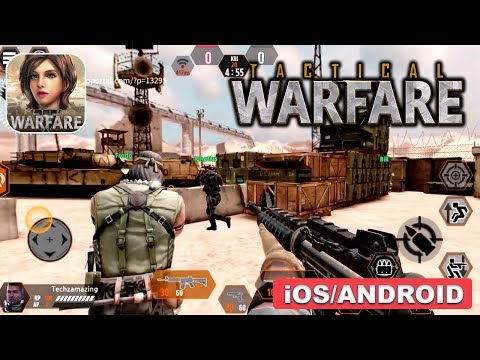 Tactical Warfare Gameplay (Android, IOS) - New FPS Mobile Game