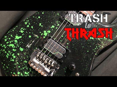 Trash to Thrash 28 – Alien Blood Strat (Jason)  S2E08 (1985 Fender Contemporary Stratcaster)