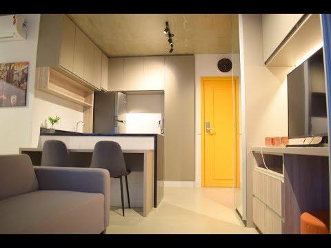 Apto Studio Mobiliado, Novo, Centro São Paulo