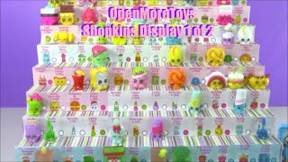 How To Make A Shopkins Display Shopkins Season 1 2 pack 5 and 12 pack Opening Part 1