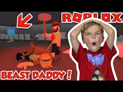 BEAST DADDY DRAGS ME TO THE FREEZER! ROBLOX FLEE THE FACILITY | RUN, HIDE, ESCAPE!