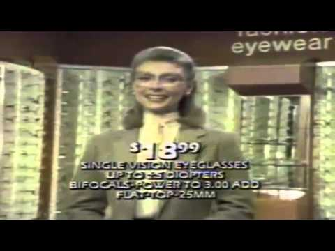 Sears Optical Department commercial