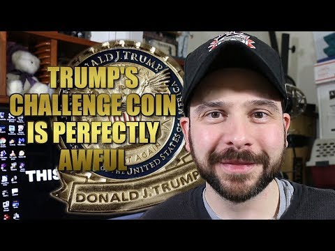 Trump's Challenge Coin is Perfectly Awful - YouTube