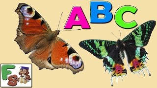 Fairy alphabet /  ABC songs / butterflies, part 1 / Nursery Rhymes / cartoon for kids/ FS