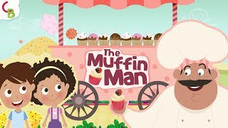 The Muffin Man - Nursery Rhymes for Children | Kids Songs & Baby Songs by Cuddle Berries