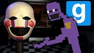 YOU CAN'T! | Freddy Fazbear's Pizza | Gmod Horror Map (Part 5)