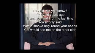 Liam Gallagher- One Of Us (Lyrics)