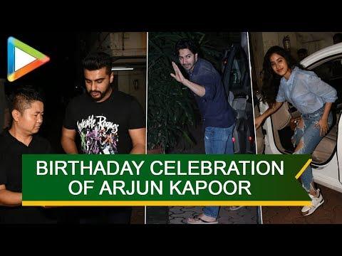 SPOTTED: Varun Dhawan, Janhvi Kapoor, Badshah and others @Arjun Kapoor's Birthday Party