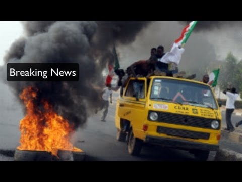 Nigerians protest end of fuel subsidy