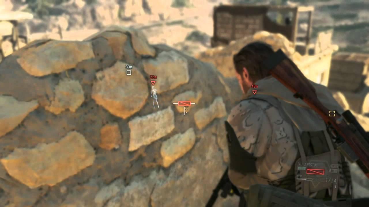 MGS5: The Phantom Pain SPEED RUN & S-RANKED Mission 1 Phantom Limbs Metal  Gear Solid V MGSV