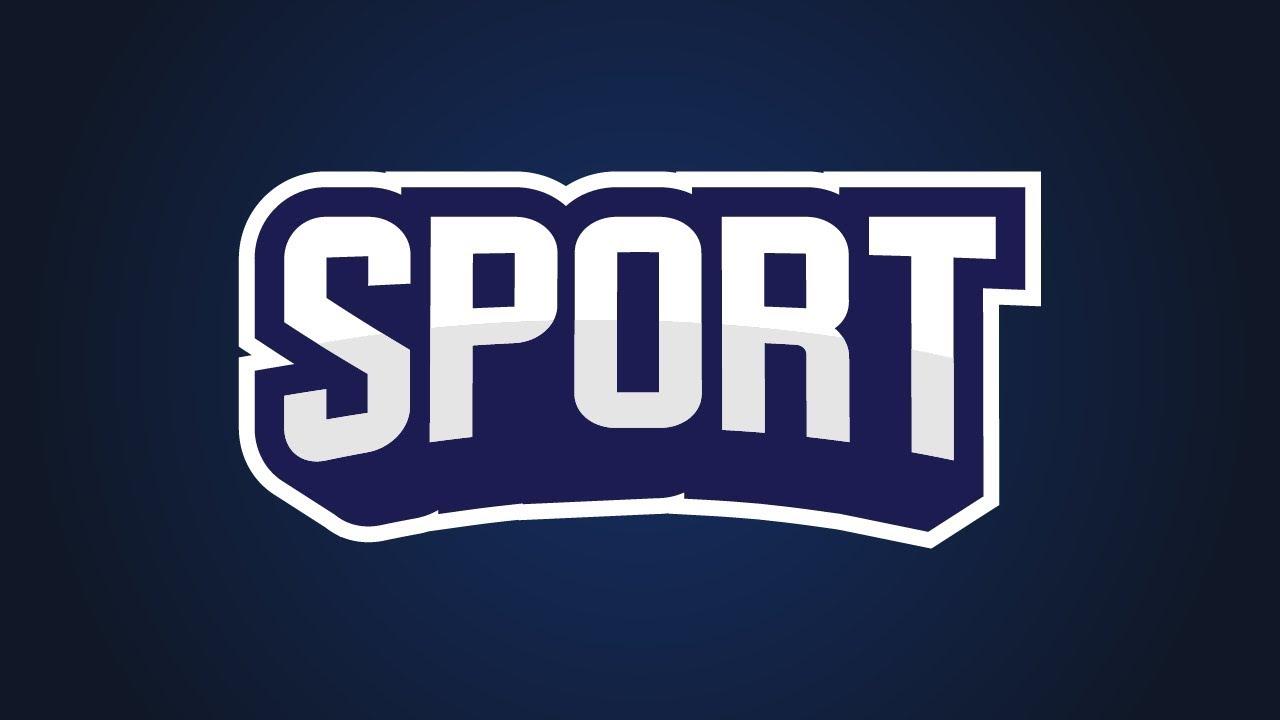 Create 3d Sport Text | Illustrator Logo Tutorial - YouTube