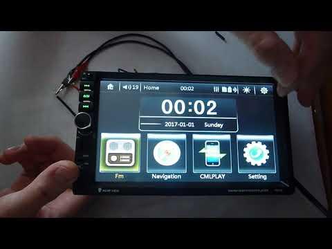 GPS 2DIN автомагнитола 7021G