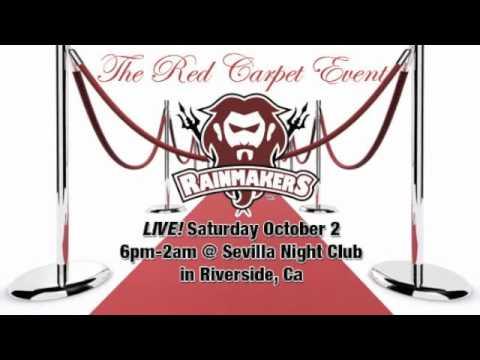The Big Red Carpet & Casino Night @ Sevilla, Riverside, CA