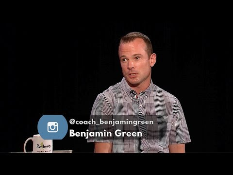 Benjamin Green who runs for Front Runners New York guest-stars.