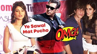 Urvashi Rautela Reaction On Salman Khan's RACE 3, Katrina Kaif And Shahrukh Khan Cute Moment