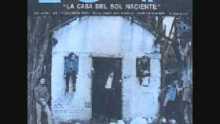HOUSE OF THE RISING SUN, LOS SPEAKERS (COVER EN ESPAÑOL), NUEVA OLA, COLOMBIA
