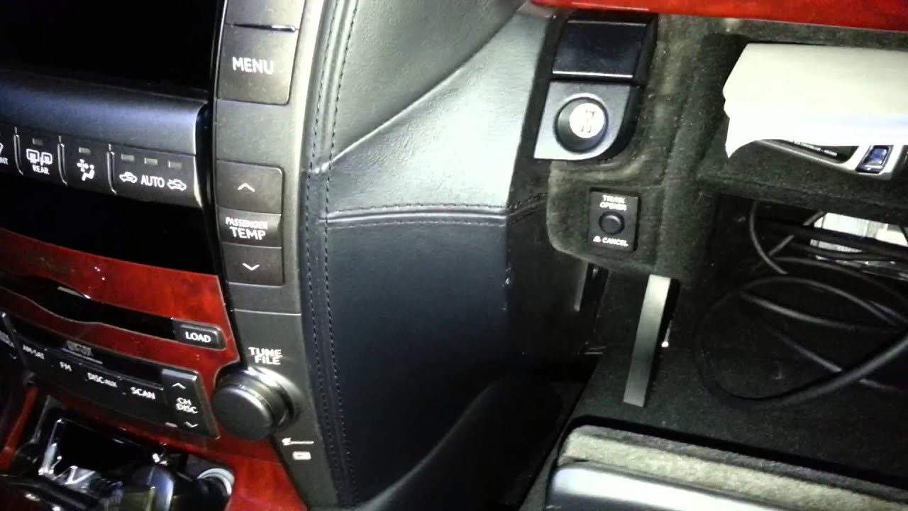Lexus Ls460  Ls600 Nearly Free Loose Glove Box Fix