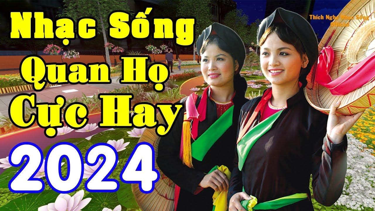 Nhạc Sống Thôn Quê  – LK Nhạc Quan Họ Bắc Ninh Hay Nhất – MC Hương Quỳnh