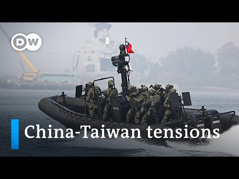 US offers Taiwan support after Chinese military incursions   DW News