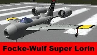 ksp focke wulf super lorin concept plane b9 aerospace firespitter