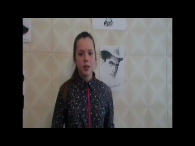Изображение предпросмотра прочтения – МарияПивоварчук читает произведение «Скрипка инемножко нервно (Скрипка издергалась, упрашивая…)» В.В.Маяковского