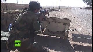 El Ejército sirio continúa haciendo retroceder al Estado Islámico