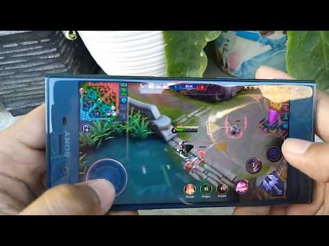 Sony XPERIA XZ1 Waterproof Test | HP smartphone android.
