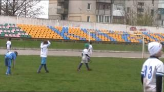 Обрий Никополь - Черноморец 1:3  07 04 2017