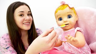 Лялька як Бебі Бон — ЛЮВАБЕЛЛА — Жива лялька-дитина