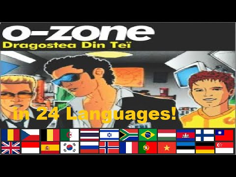 Numa Numa All 24 Languages!
