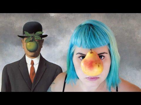 Interpretando Quadros do Magritte | Tá, Querida!