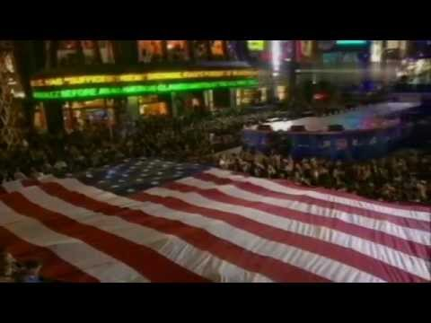 Bon Jovi - America the Beautiful (live at Times Square 2002)