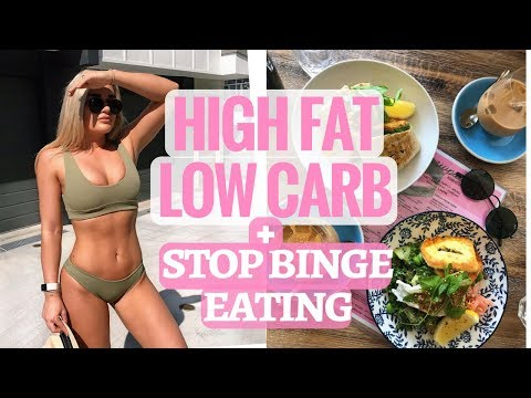 What I Eat In A Day High Fat Low Carb II Day after binge eating II #Wedshred