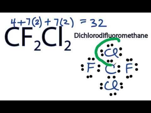 Cf2cl2 Lewis Structure