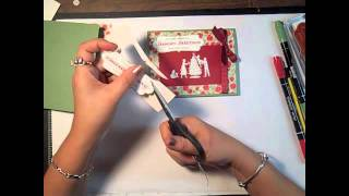Stampin' Up! Tutorial- Stamp With Me, Welcome Christmas