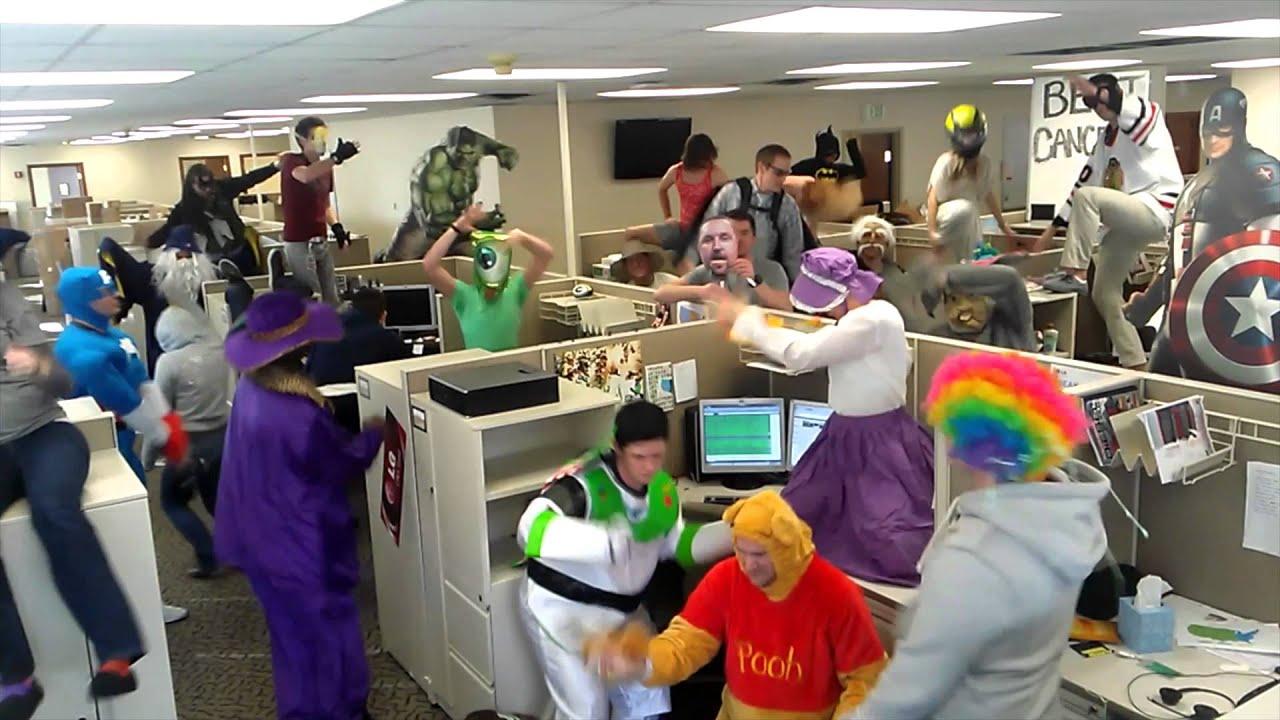 Harlem Shake Office version #185 - YouTube