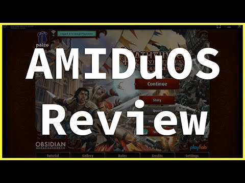 AMIDuOS Emulator Review | Fast & Plays Android Games